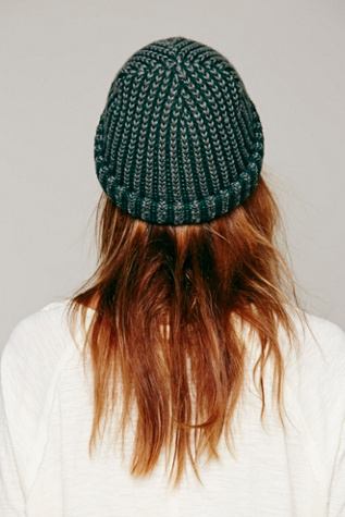 Free People Two Toned Sailor Cap Beanie