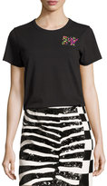 Marc Jacobs Classic Sequined MTV Tee, Ivory