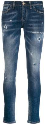 Frankie Morello distressed skinny denim jeans