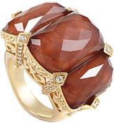 Stephen Webster 18K 27.58 Ct. Tw. Diamond & Quartz Ring