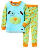 Skip Hop SKIP*HOP® ZOOJAMASTM Size 4T Dog Long-Sleeve Pajamas in Blue/Green