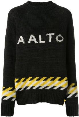 Aalto Knitted Logo Jumper