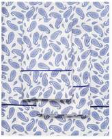 Melange Home Block Paisley Sheet Set
