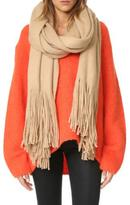 Free People Brushed Scarf Sand