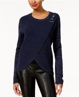 INC International Concepts Surplice Sweater, Created for Macy's