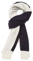 "Proenza Schouler Knit Bicolor Wool Long Scarf, 88"" x 20"""