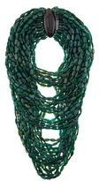 eskandar Multistrand Horn Necklace