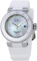 Invicta White & Mother-of-Pearl Pro Diver Bracelet Watch - Unisex