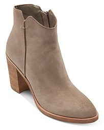 Dolce Vita Women's Seyon Stacked Heel Ankle Booties