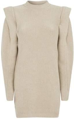 Isabel Marant Beatsy Knitted Mini Dress