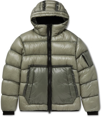 C.P. Company Quilted Shell Hooded Down Jacket