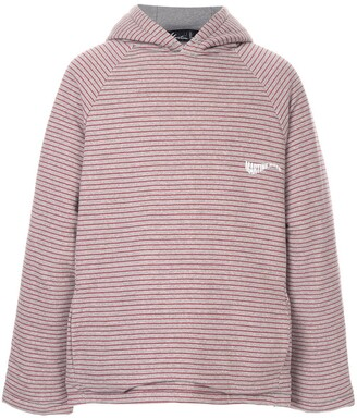 Martine Rose oversized striped hoodie