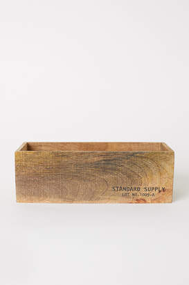 H&M Small Wooden Storage Box