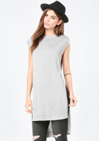 Bebe Silk & Cashmere Knit Tunic