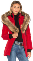 Mackage Adali Coat with Asiatic Raccoon Fur Trim