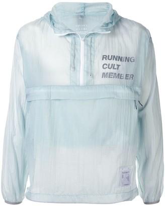 Satisfy Running Cult lightweight performance jacket