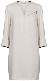 custommade Linda 3 4 Sleeve Dress - 34/XS - Grey