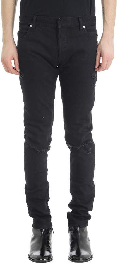 Balmain Black Denim Jeans