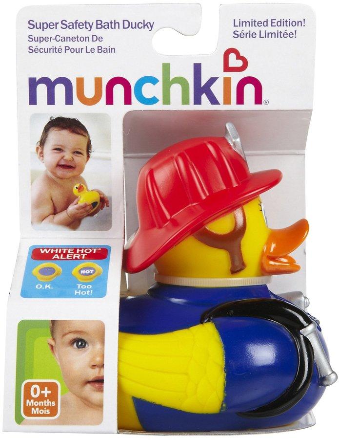 Munchkin White Hot Super Safety Bath Ducky - Boy Designs