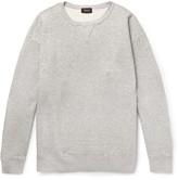 Chimala Mélange Loopback Cotton-Jersey Sweashirt