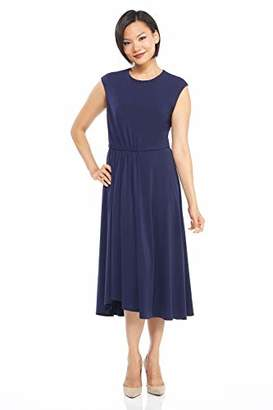 Maggy London Women's Solid Crepe fit and Flare