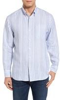 Tommy Bahama Men's Big & Tall Pintado Stripe Linen Sport Shirt