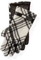 Ralph Lauren Plaid Wool-Blend Gloves
