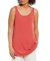 Eileen Fisher Petites Scoop Neck Sleeveless Tunic