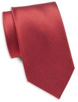 Saint Laurent Microdot Silk Tie