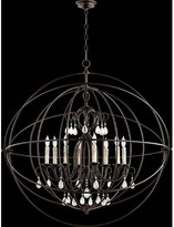 House Of Hampton Madeira 8 - Light Unique / Statement Globe Chandelier with Crystal Accents House of Hampton Finish: Oiled Bronze