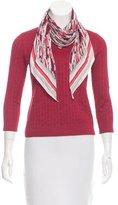 Louis Vuitton Silk Knit Top
