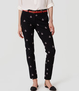 LOFT Petaled Essential Skinny Ankle Pants in Julie Fit