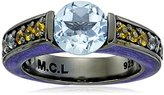 MCL by Matthew Campbell Laurenza Viking Channel Gem Stackable Ring, Size 7