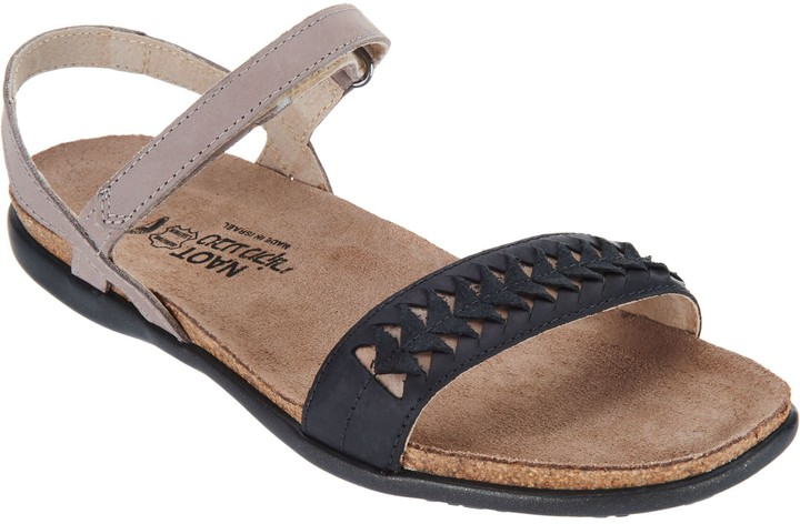 Naot Footwear Leather Ankle Strap Sandals - Mabel