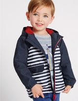 Marks and Spencer Striped Jacket with StormwearTM (3 Months - 5 Years)
