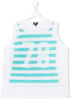 Diesel 78 striped tank top