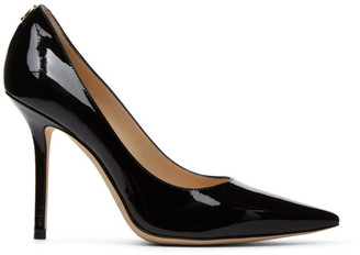 Jimmy Choo Black Patent Love 100 Heels