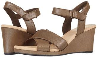 Clarks Lafley Clara (Metallic Textile) Women's Shoes