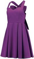 Unbranded Women's Lauren James Purple The Livingston Seersucker Dress