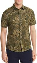 Michael Kors Tropical Slim Fit Button-Down Shirt - 100% Exclusive