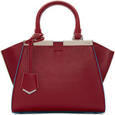Fendi Red Mini 3Jours Tote