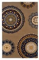 Nobrand No Brand Medallion Area Rug - Tan/Light Blue (8'x10')