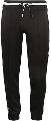Karl Lagerfeld Paris Button-Side Jogging Pants