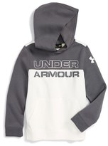 Under Armour Boy's 'Sportstyle' Logo Graphic Coldgear Hoodie