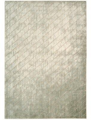 "Calvin Klein Maya Feldspar Mica Wool Beige/Ivory Area Rug Rug Size: Rectangle 9'3"" x 12'9"""