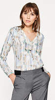 Esprit Viscose blouse with a geometric print