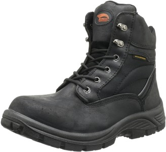 """Avenger Safety Footwear Avenger 7227 6"""" Leather and Cordura EH Waterproof Slip Resistant Safety Toe Work Boot"""