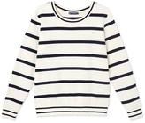 Petit Bateau Womens striped sweatshirt