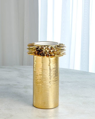 Ashley Childers For Global Views Spike Cylinder Small Vase