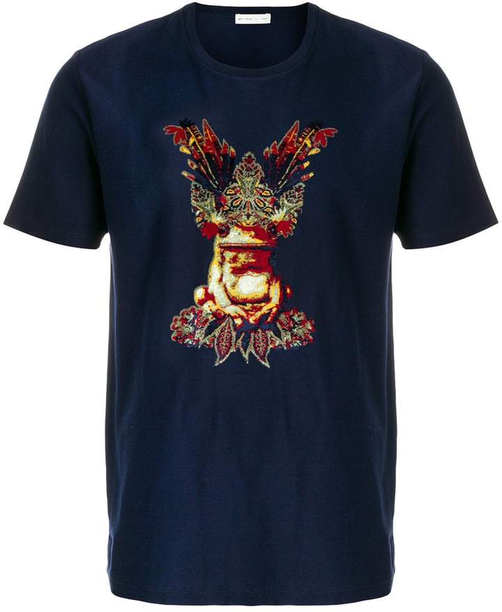 Etro frog print T-shirt